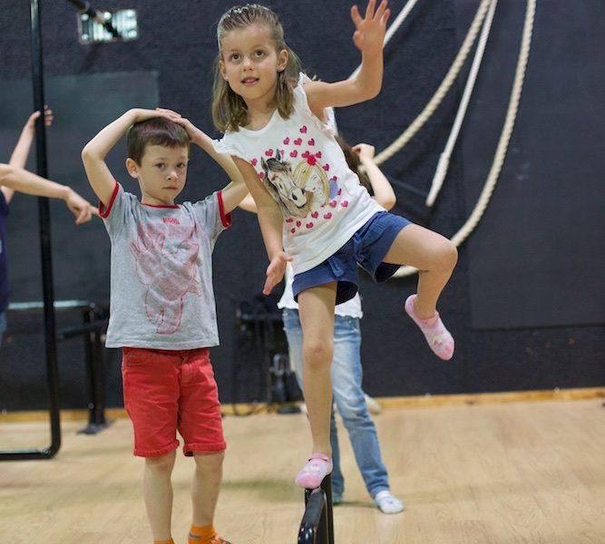 Settimo compleanno di Daniele e Asia al Circu Puzzle di Cernusco sul Naviglio